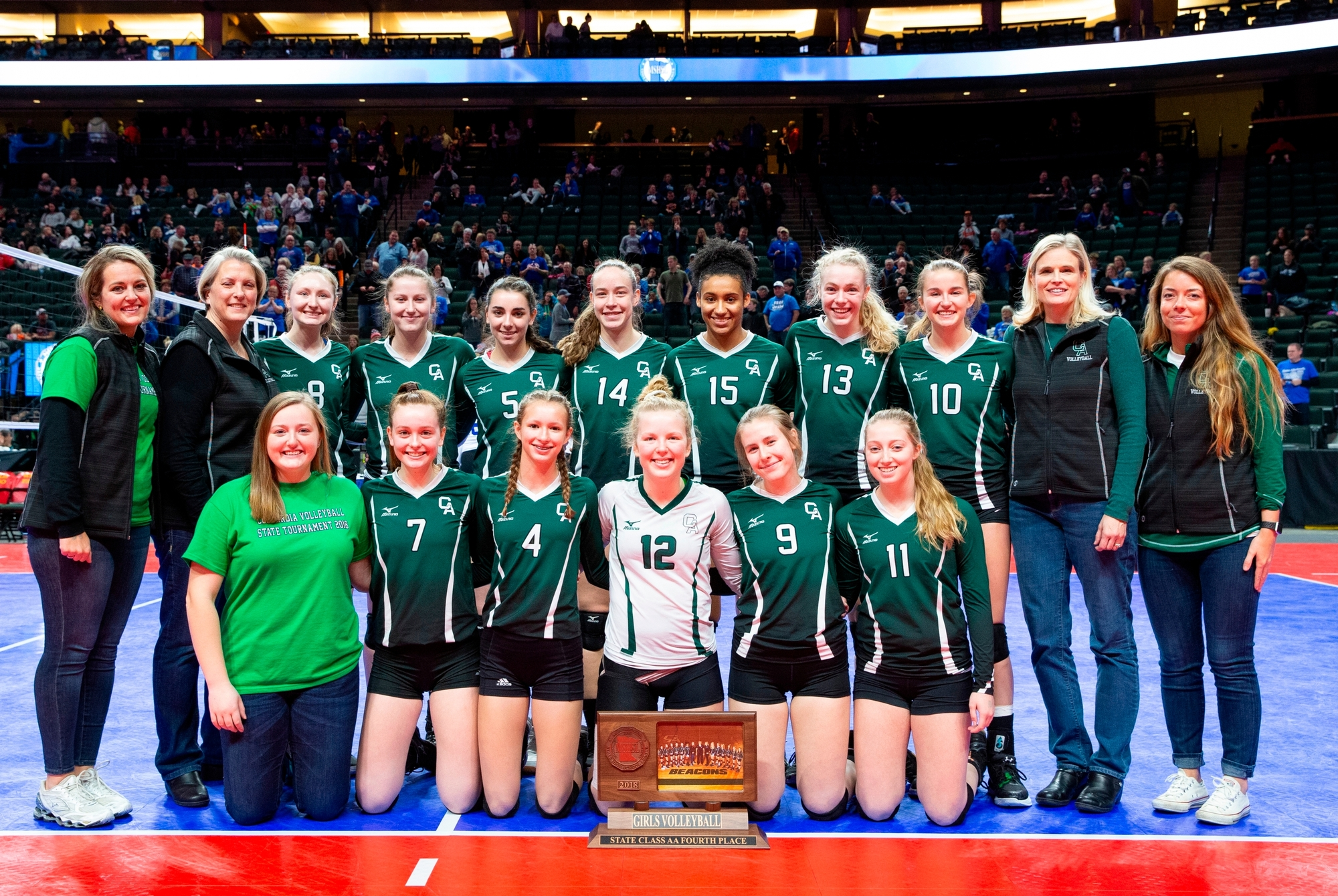 Volleyball: 4th In State!