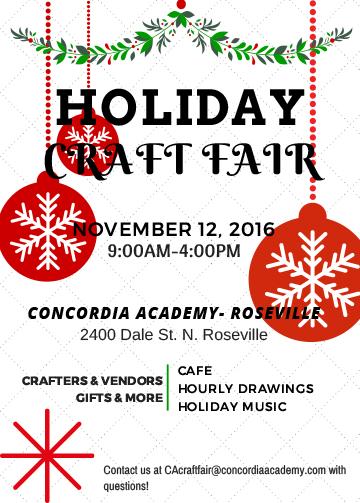 CA Craft Fair Info
