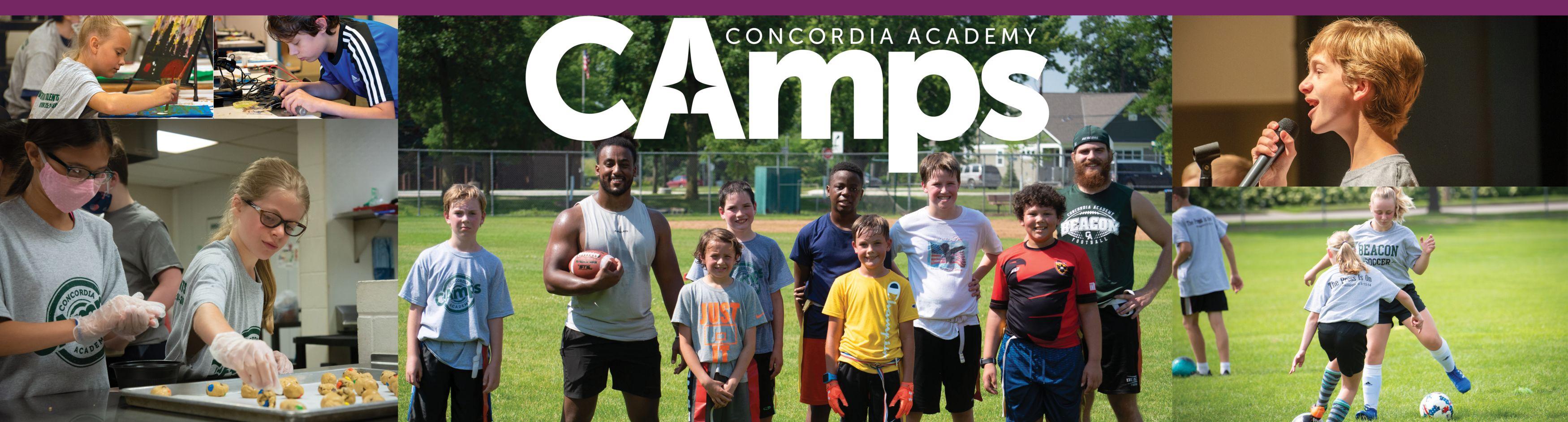 CA Camps Banner