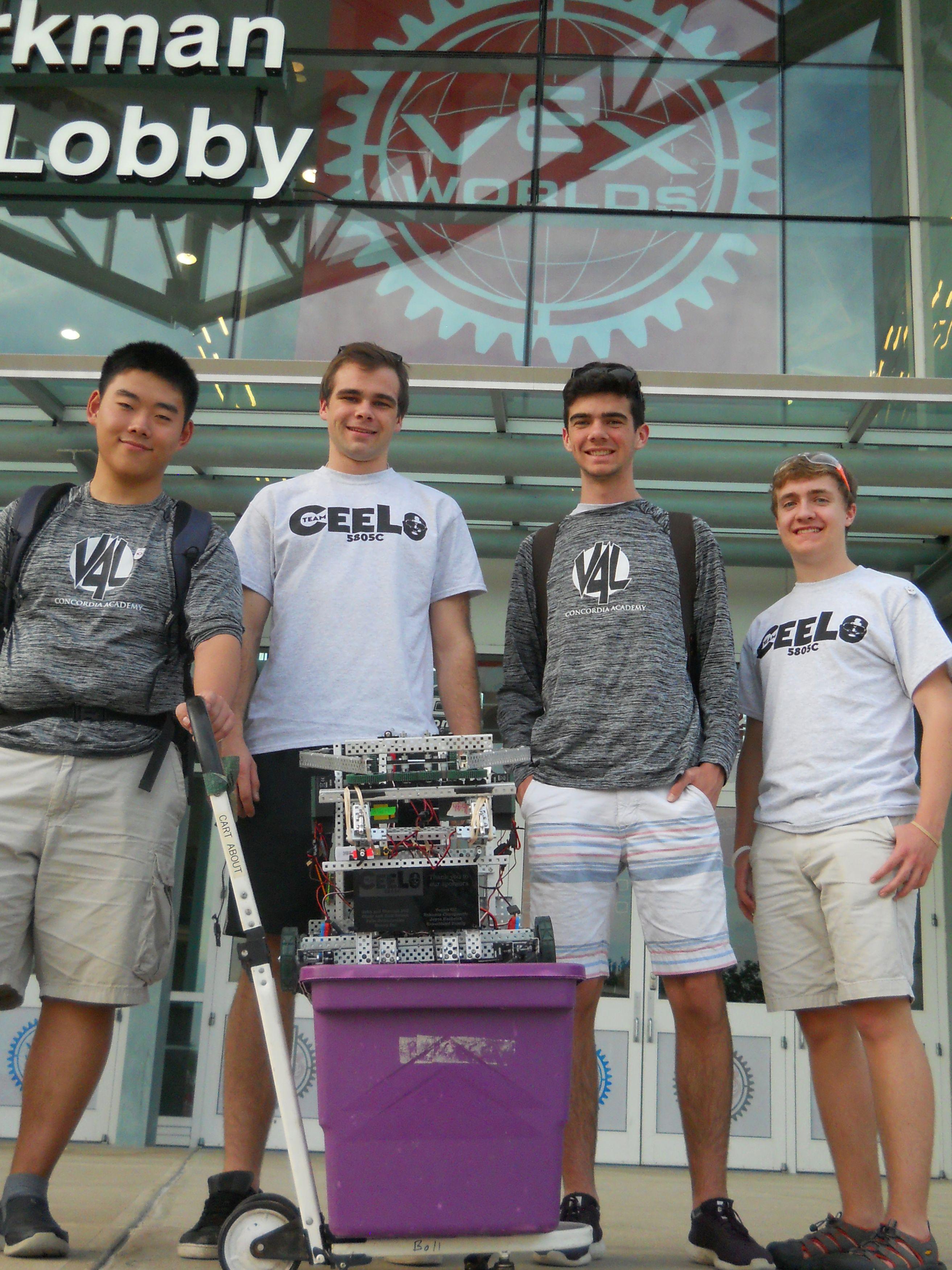 Robotics Team at Worlds